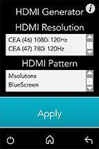 HDMI Pattern Generator